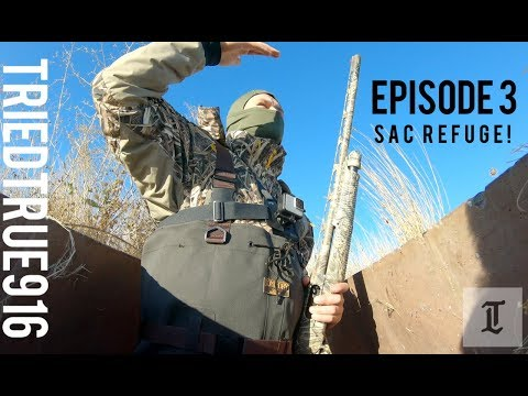 Sac Refuge. Episode 3. #triedtrue916 #duckhunting