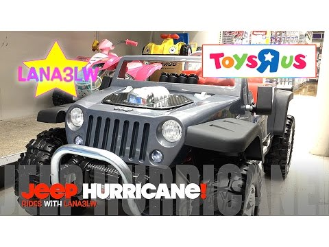 Best Popular Jeep Hurricane Kids Ride On Electric Car Test Drive Toys R Us - Lana3LW
