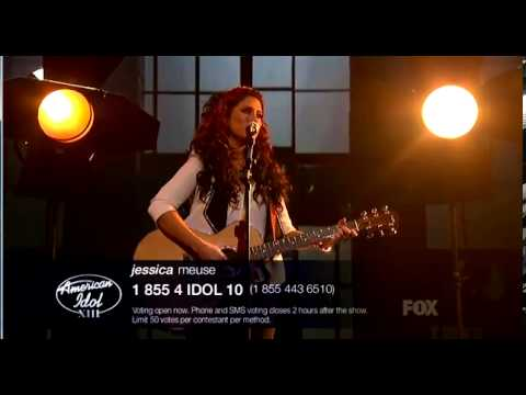 "Jessica Meuse ""Sound Of Silence"" - Season XIII Top 11 Finalist"