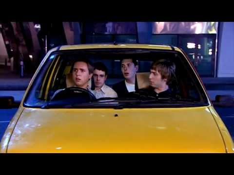 Simon meets the bus wankers - The Inbetweeners: The Complete Series classic TV clip