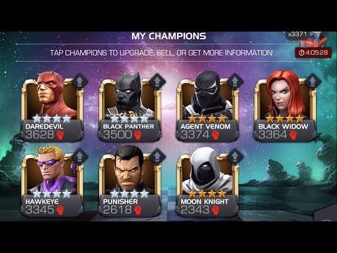 Crossing 200k: 17 4-Star Hero Rank Up | Marvel Contest of Champions