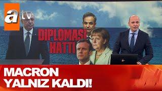 Erdoğan Makron ile konuştu! - Atv Haber 23 Eylül 2020