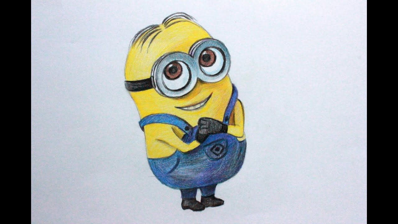 Show me how to draw a minion - Show Me How To Draw A Minion 36
