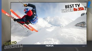 Nokia 50 quot 4K UHD Smart TV Unboxing amp Hands On Micro Dimming amp Onkyo Sound Bar