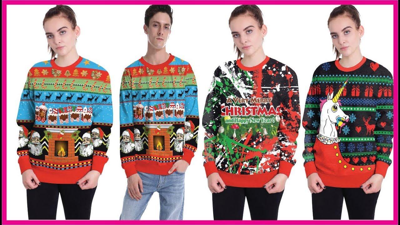 Stylish Unisex Christmas Sweater 2018 Cheap Ugly Christmas Sweater