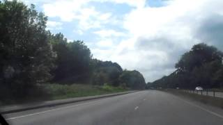 Driving Down The South Coast On The A27 Road