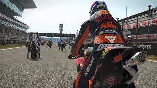 MotoGP 17 - KTM RC16 - Test Ride Gameplay (PC HD) [1080p60FPS]
