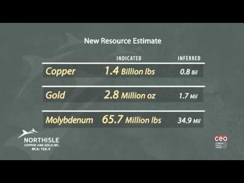 Video NorthIsle Copper And Gold Inc. 15 Second Commercial Produced By CEO Clips