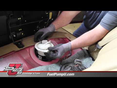 How to Install Fuel Pump Assembly E8738M in a  2006 – 2010 Volkswagen VW Passat
