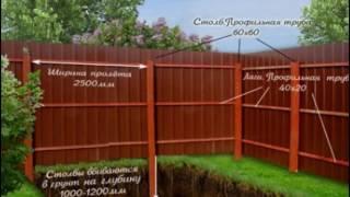Забор из профнастила своими руками(Забор из профнастила своими руками http://svoimi-rukami.vilingstore.net/Zabor-iz-profnastila-svoimi-rukami-c017388 Чтобы скрыть территорию..., 2016-05-31T15:04:01.000Z)