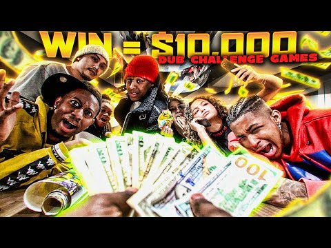"""Whoever Wins """" THE GAME SHOW """" Wins $10,000 ! Ft. Chino DDG Valentine Ty Nyree Von Riley"""