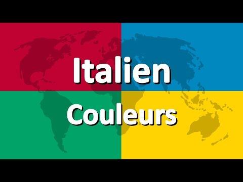Apprendre l'italien partie 3   Couleurs