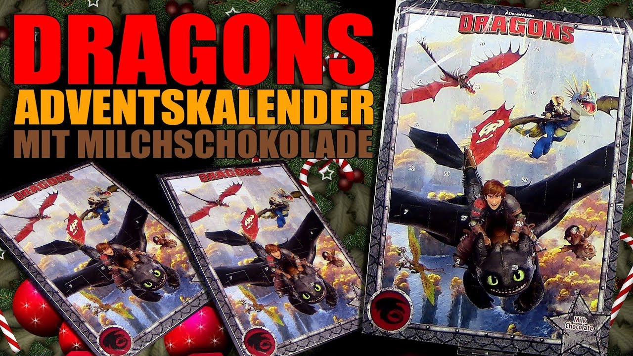 Dragons   Adventskalender Mit Vollmilch Schokolade !!! EPIC FAIL !!!  Unboxing U0026 Review