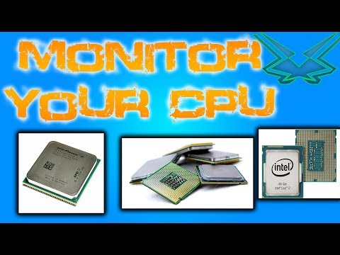 Monitor CPU Clockrate and Temperature