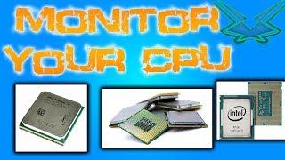 Monitor CPU Clockrate and Temperature