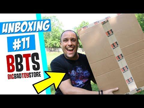 Unboxing BBTS (em Orlando) - Como Achar Todas As Suas Figuras De Ação Em Sua Viagem De Férias