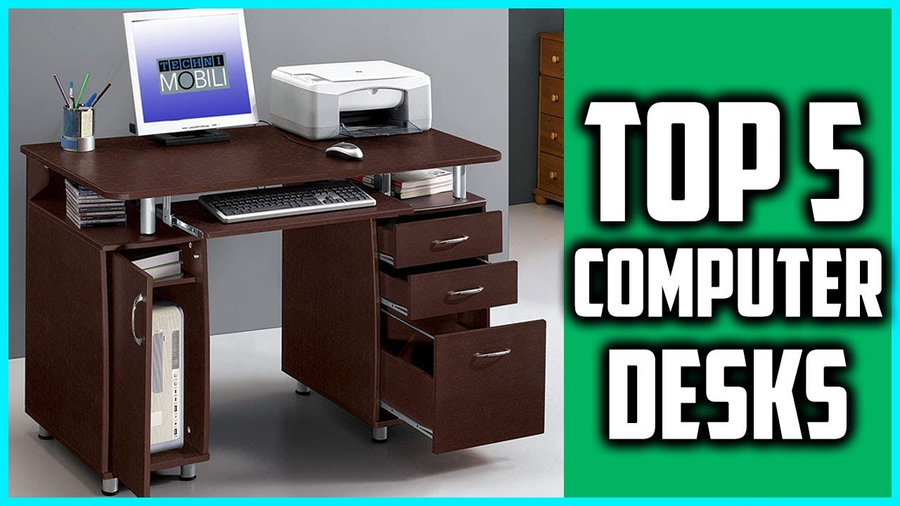 - Top 5 Best Computer Desks 2019 - Best Buy Computer Desk - YouTube