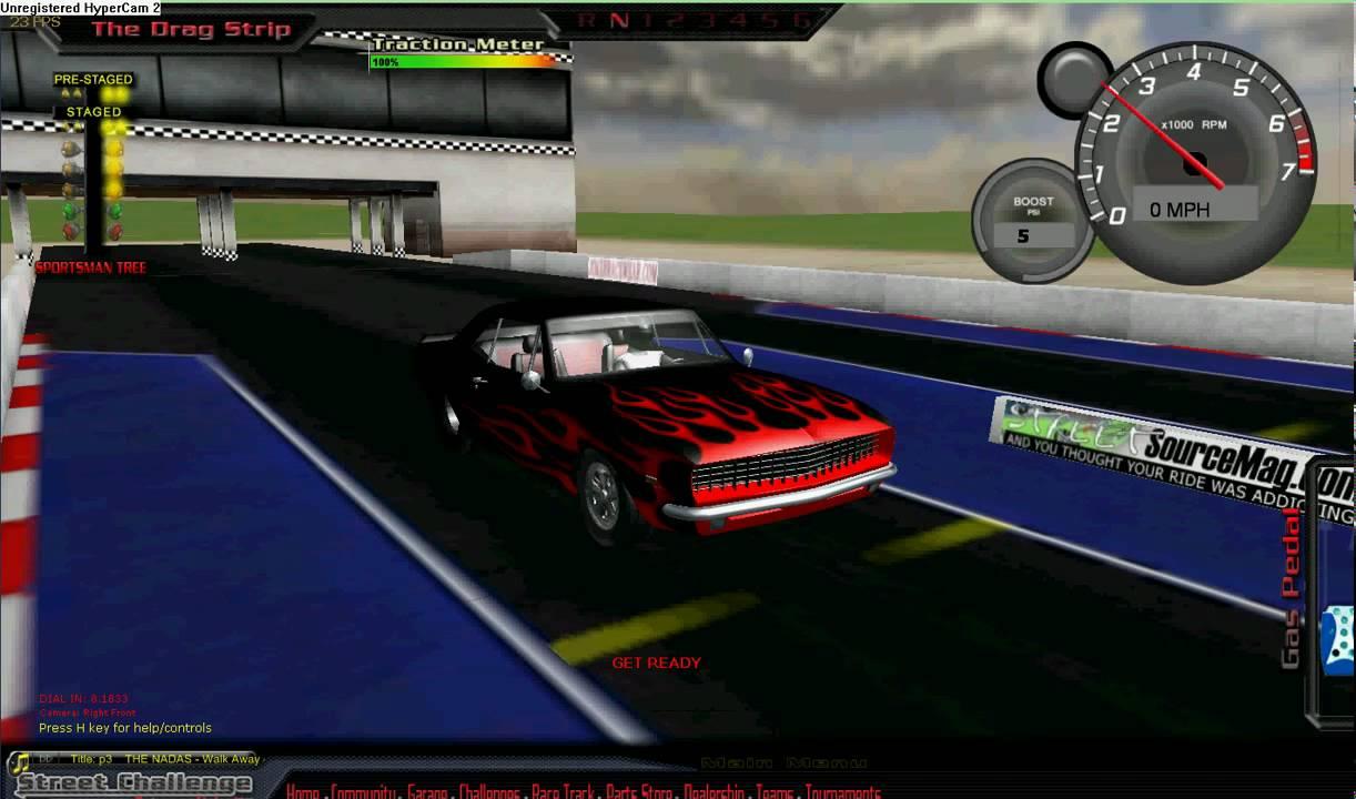 Drag racing video games