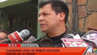 CLAUSURA LOCAL DE REMATE EN PLENO CENTRO DE LA CIUDAD