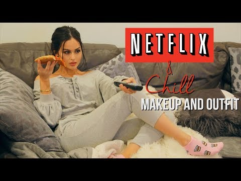 Netflix & Chill Makeup and Outfit
