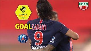 Goal Edinson CAVANI (12') / AS Monaco - Paris Saint-Germain (0-4) (ASM-PARIS) / 2018-19