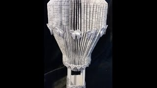 Book Folding.  HOT AIR BALLOON