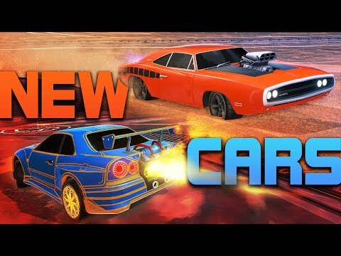 PLAYING WITH THE NEW CARS - Nissan Skyline + Dodge Charger (Fast & Furious DLC)