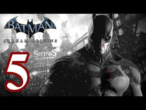 Batman Arkham Origins -Part 5 &  Access The Gotham City Merchants Bank