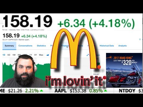 McDonalds IS UP AFTER A NICE EARNINGS BEAT! ~Investor XP~