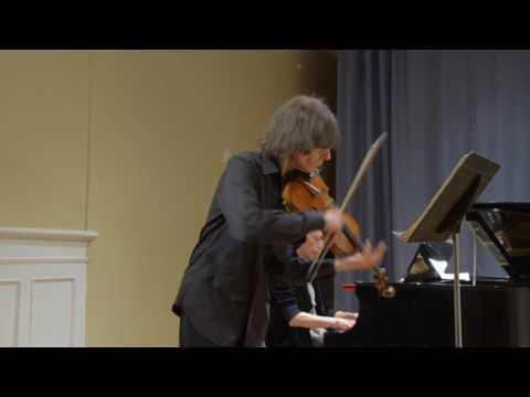 Bloomingdale School of Music 04/28/2017 Judith Olson & Rolf Schulte: Beethoven Sonatas