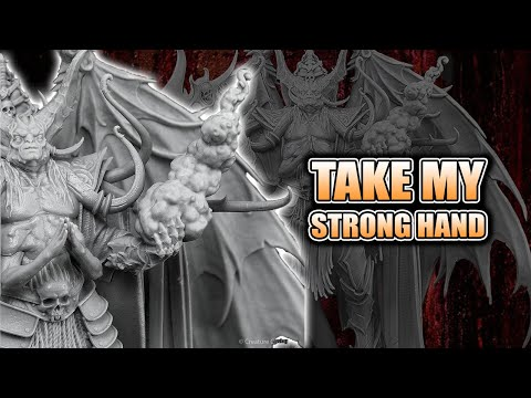 Lord Of Sacrifice Creature Caster Unboxing Resin Demon Miniature