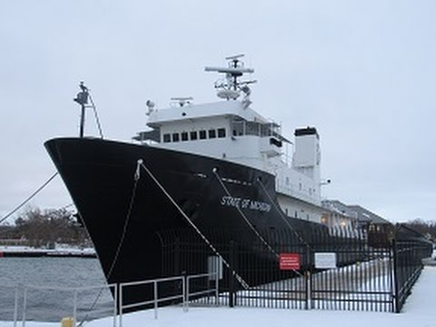 Great Lakes Maritime Academy Visit: Winter of 2016