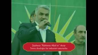 Yapıcıoğlu'nun dilinden 'Bir Güneş Doğdu' şiiri