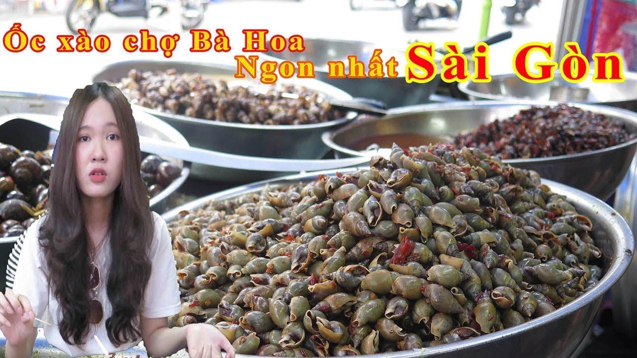 Quán ốc xào ngon nổi tiếng chợ Bà Hoa, mỗi ngày bán vài giờ với hàng trăm ký – Guufood