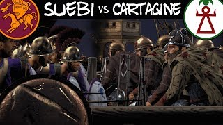 Rome 2 Total War Online Naval Battle #6 - Suebi Vs Cartaginesi [ITA]