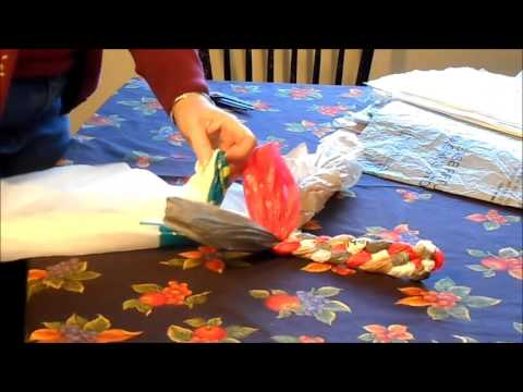 Braided Plastic Bag Rug Part 1 Youtube