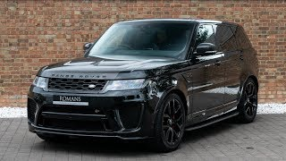 2018 Range Rover Sport 5.0 SVR - Santorini Black - Walkaround, Interior & Loud Revs - High Quality