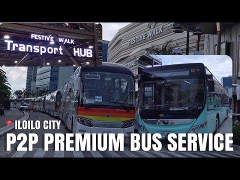P2P PREMIUM BUS SERVICE IN ILOILO CITY