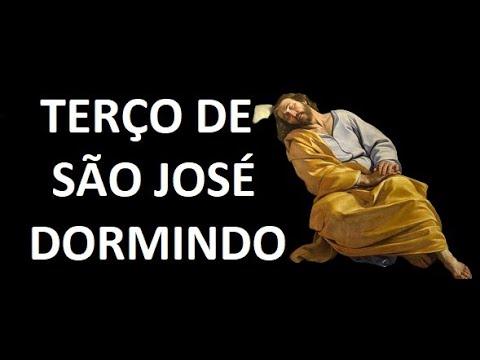 TERÇO SÃO JOSÉ DORMINDO PROVIDENCIAI