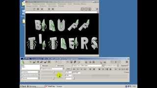 Урок 33 Растровые шрифты в BluffTitler