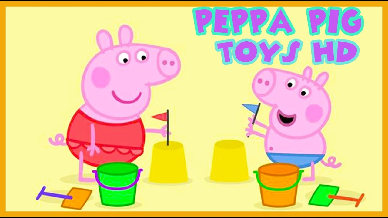 Peppa Pig English Toys Episodes Peppa New Full Toys ...