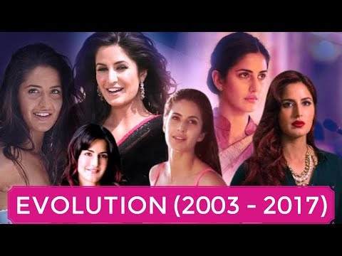 Katrina Kaif Evolution (2003 - 2017) Boom to Tiger Zinda Hai