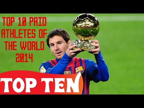 Top 10 Paid Athletes of the World 2014