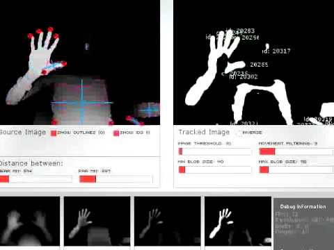 Finger Tracking Using KinectCoreVision