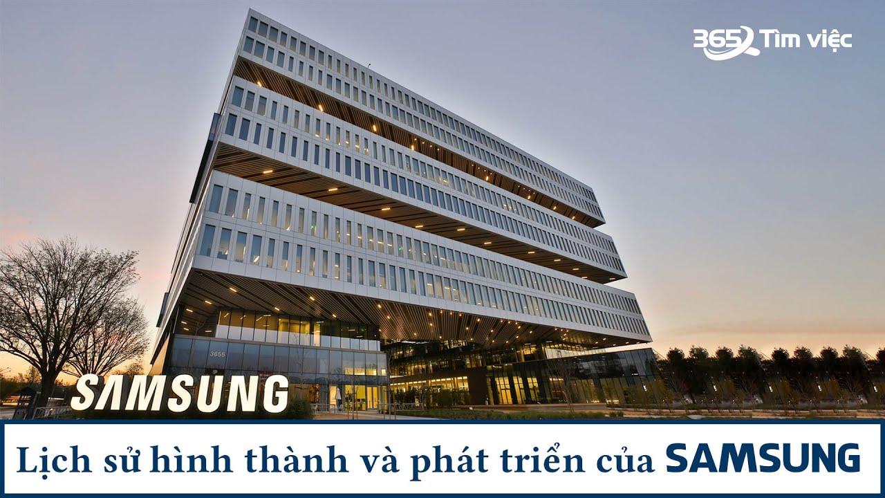 Lịch sử hình thành Samsung – Đế chế công nghệ hàng đầu châu Á