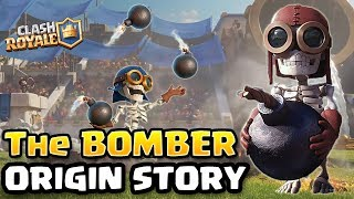 Clash Royale & Clash of Clans | Bomber Origin Story - Wall Breaker Story Part 2 (Bomber Backstory)