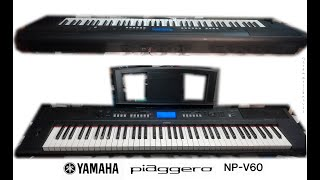 YAMAHA piaggero NP-V60 (DEMO s…