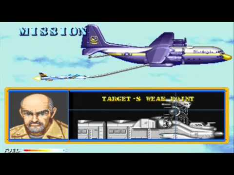 CARRIER AIR WING ARCADE GAMEPLAY