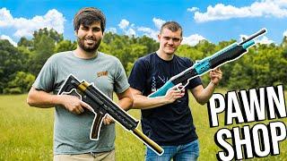 Coolest BUDGET Gun PawnShop CHALLENGE! Ft. Kendal Gray