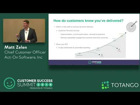 Creating a CX-Focused Company - Customer Success Summit 2018 (Track 1)